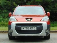 PEUGEOT PARTNER 1.6 TEPEE OUTDOOR HDI 5d 90 BHP (red) 2009