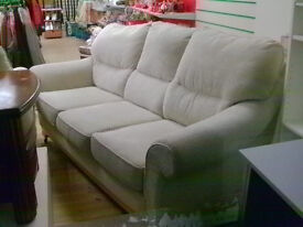 Bargain Buy !!! 3 seater sofa & armchair excellent condition extracare civic centre