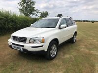 VOLVO XC90 D5 AWD- 2.4 Diesel AUTOMATIC- 7 Seater-Tow bar - FVOLVOSH- Pearlescent white