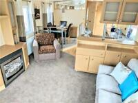 FREE 2018 & 2019 Pitch Fees - 2 bed static caravan, freestanding furniture