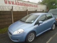breaking for spares fiat punto dynamic sport 2007 1.4 p