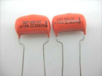 2 pcs SPRAGUE 0.015uF 6KV 6000VDC High Voltage 430P Type Metal Film Capacitor