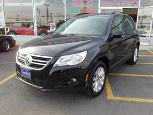 2011 Volkswagen Tiguan 4 MOTION LEATHER,ROOF NO ACCIDENTS