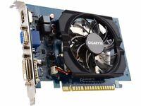 Gigabyte GeForce GV-N730D5-2GI Graphics Card - 2GB GDDR5 - Like New in box