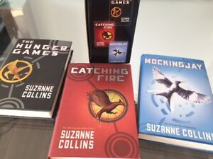 The Hunger Games Trilogy Book Set In Mint Condition!