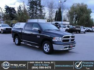 2016 DODGE RAM 1500 SLT CREW CAB 4X4 LOADED 55KM *NICE TRUCK*