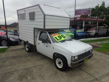 1994 Nissan Navara DX White 4 Speed Automatic Dual Cab Pick-up New Lambton Newcastle Area Preview