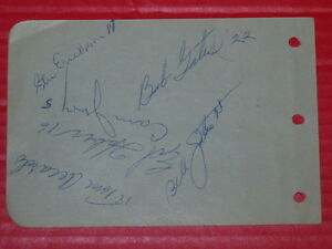 For Sale:1950 Baseball Autographs x 19. Border League - Kingston