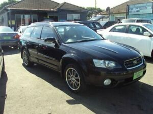 2005 Subaru Outback MY05 3.0R Premium Black 5 Speed Auto Sports Shift Wagon Punchbowl Canterbury Area Preview