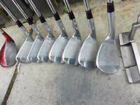 Nike VR Tiger Woods Iron Set and Nike Ignite Putter (Custom fitted)