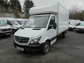Mercedes-Benz Sprinter 3.5T LUTON WITH TAILLIFT DIESEL MANUAL WHITE (2016)