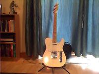 Fender Telecaster, Mexico, vintage white, pristine condition