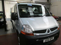 10 RENAULT MASTER WHEELCHAIR ADAPTED 50 + ADAPTED VEHICLES IN STOCK