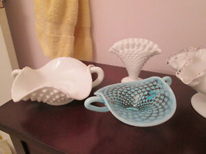 FENTON GLASS BASKET & CANDY DISH**PLUS MORE**SEE ALL PICTURES London Ontario image 2