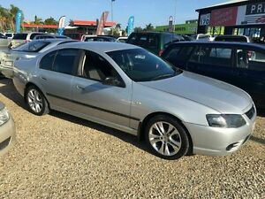 2006 Ford Falcon BF MK 11 Silver 4 Speed Automatic Sedan Biggera Waters Gold Coast City Preview