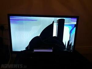 Broken plasma flat screen $20 Downtown-West End Greater Vancouver Area image 1
