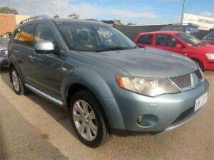 2008 Mitsubishi Outlander ZG MY08 VR-X (7 Seat) Blue 6 Speed Auto Sports Mode Wagon