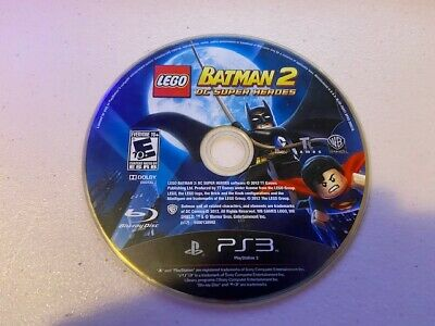 LEGO Batman 2: DC Super Heroes (SONY PLAYSTATION 3, PS3) - DISC ONLY