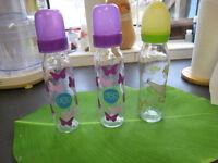 Bundle of Glass Bottle and Plastic Bottle