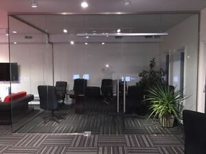 Glass Partition, Entrance System