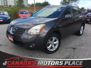 2009 Nissan Rogue S S AWD , SUNROOF,AUX, 6 disc , CLEAN