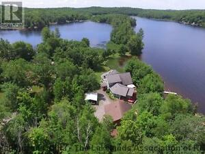 Beautiful Water Front Property, 3+ acres with 1300ft shoreline