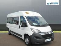 2016 Citroen Relay MINI BUS 2.0 BlueHDi H2 14 SEATER Diesel white Manual