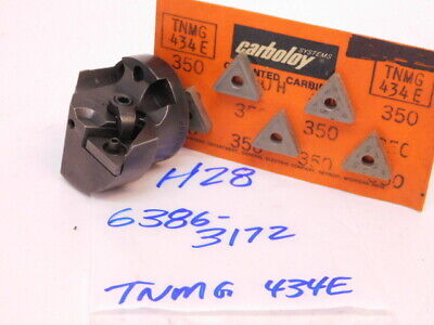 Used Kennametal Carbide Indexable Interchangeable Boring Head With 5pcs. Inserts