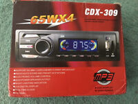 Car Radio Stereo Head Unit Player MP3/USB/SD/AUX-IN/FM
