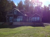 Beautiful new waterfront home on manitoulin island