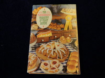 Fleischmann Treasury of Yeast Baking Breads Cake Rolls Muffin Doughnuts 1962 A67 ()
