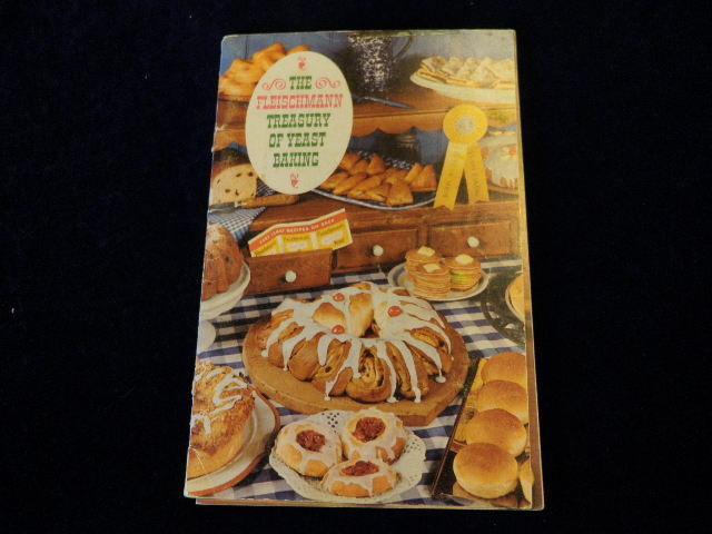 Fleischmann Treasury Of Hefe Baking Breads Kuchen Rollen Muffin Doughnuts 1962