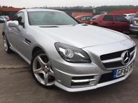 2012 Mercedes Benz SLK 1.8 SLK200 BlueEFFICIENCY AMG Sport 7G Tronic Plus 2dr...