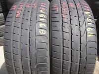 225/40/18 Pirelli x2 A Pair, 5+mm (London, E13 8HJ) Audi, Mercedes, Bmw Used Tyres 255 35 245 50 235