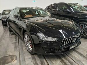 2019 Maserati Ghibli M157 (No Badge) Black Sports Automatic Westmeadows Hume Area Preview