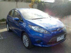2013 Ford Fiesta WT LX Blue 6 Speed Automatic Hatchback Newtown Geelong City Preview
