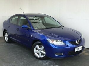2008 Mazda 3 BK10F2 Maxx Blue 5 Speed Manual Sedan Mount Gambier Grant Area Preview