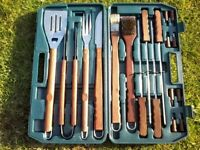 Barbecue tool set 18 piece