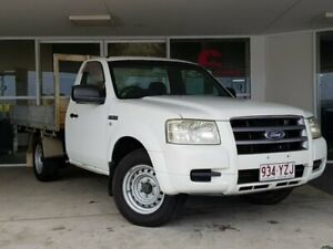 2007 Ford Ranger PJ XL 4x2 White 5 Speed Manual Cab Chassis Brendale Pine Rivers Area Preview