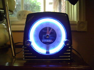 Thunderbird 50th Anniversity Neon CD clock Radio Peterborough Peterborough Area image 1
