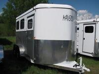 2 Horse Trailer Warmblood Size