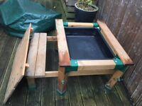 ELC Sandpit / Picnic Table