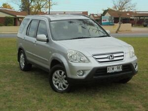 2005 Honda CR-V 2005 Upgrade (4x4) Sport Alabaster Silver 5 Speed Manual Wagon Albert Park Charles Sturt Area Preview