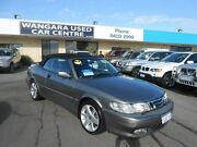 2003 Saab 9-3 MY03 Turbo 2.0T Grey 4 Speed Automatic Convertible Wangara Wanneroo Area Preview