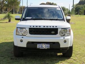 2011 Land Rover Discovery 4 MY11 2.7 TDV6 White 6 Speed Automatic Wagon East Rockingham Rockingham Area Preview