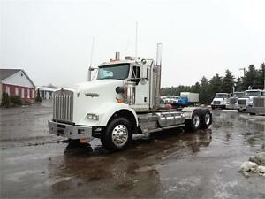 2009 KENWORTH T800 HEAVY SPEC DAYCAB,HYD WETLINE, REBUILT ENGINE