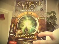 Steam Punk Tarot Deck & Book (Boxed as new - used once/twice)