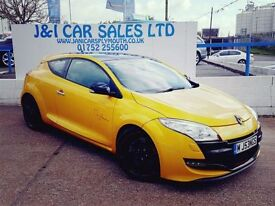 RENAULT MEGANE 2.0 RENAULTSPORT TROPHY 3d 265 BHP A GREAT EXAMPLE (yellow) 2011