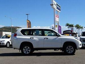 2013 Toyota Landcruiser Prado KDJ150R GX White 5 Speed Sports Automatic Wagon Garbutt Townsville City Preview