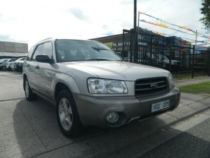 2002 Subaru Forester MY03 XS Silver 5 Speed Manual Wagon Williamstown North Hobsons Bay Area Preview